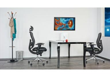 Scaun ergonomic Oklahoma Pdh - Silueta distinctă, detaliile și linia spătarului ergonomic ...